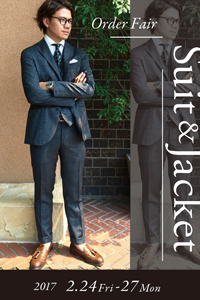 SUIT&JACKET ORDER FAIR