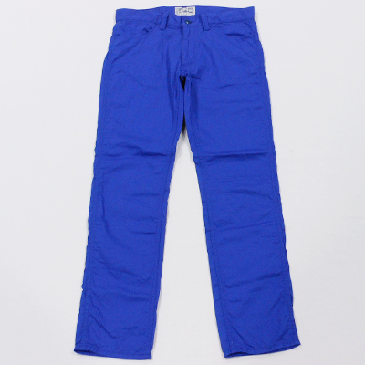【5 POCKET TWILL COLOR PANTS】 147-036*121画像1