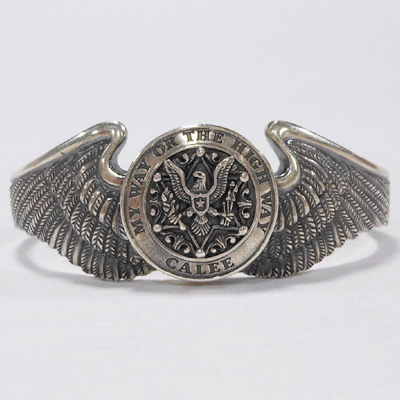 【CONCHO WING BANGLE】 13ST029AC*121画像1