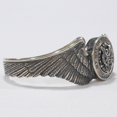 【CONCHO WING BANGLE】 13ST029AC*121画像2