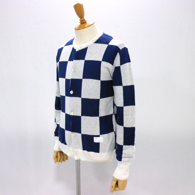 【CHECKERED FLAG CREW NECK CARDIGAN】 NMKN-15SS-004*117画像3