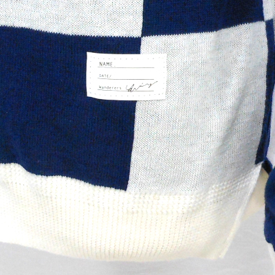 【CHECKERED FLAG CREW NECK CARDIGAN】 NMKN-15SS-004*117画像4