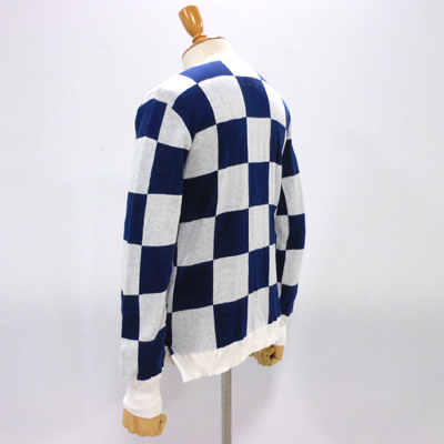 【CHECKERED FLAG CREW NECK CARDIGAN】 NMKN-15SS-004*117画像5