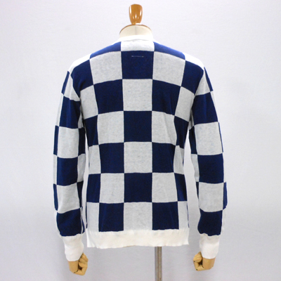 【CHECKERED FLAG CREW NECK CARDIGAN】 NMKN-15SS-004*117画像6