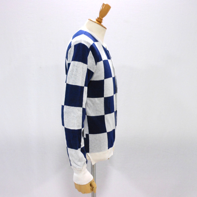 【CHECKERED FLAG CREW NECK CARDIGAN】 NMKN-15SS-004*117画像7