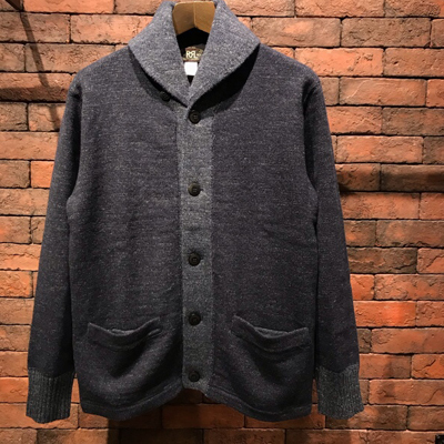 【COTTON WOOL SHAWL CARDIGAN】 MNRRSWE16810080*307画像1