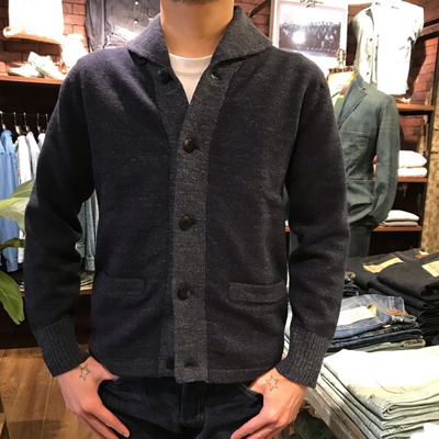 【COTTON WOOL SHAWL CARDIGAN】 MNRRSWE16810080*307画像7