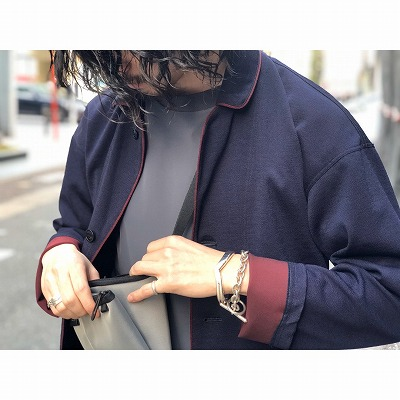【Removable Collor Shirts Jacket】201514*305画像5
