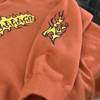 【FLAME LOGO CREW NECK SWEAT】CL-20SS024*121画像4