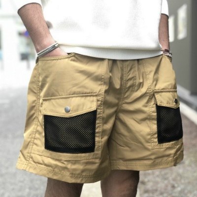 【CAMP VOLLY 2WAY MESH SHORTS】*201画像1