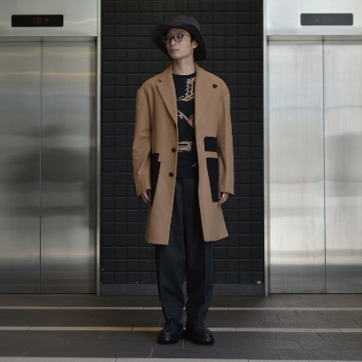【20183-0301 Chester field coat】*117画像6