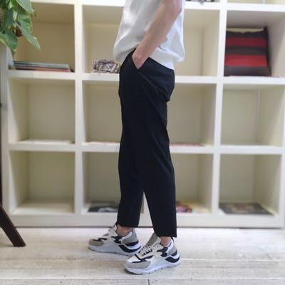 【COTTON NYLON CHAMBRAY RELAX PANTS】MHSL21S5069-S*106画像2