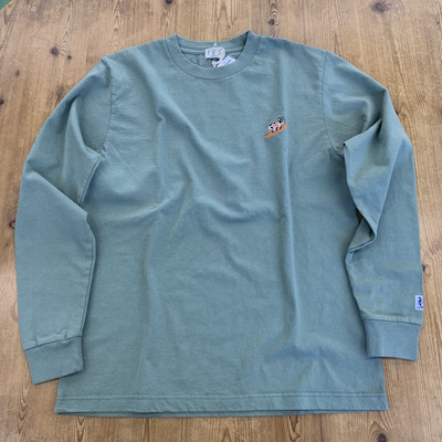 【TES TURN BUHI EMB LONG SLEEVE T-SHIRT】00774307*121画像6