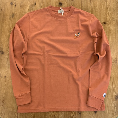 【TES TURN BUHI EMB LONG SLEEVE T-SHIRT】00774307*121画像5