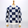 【CHECKERED FLAG CREW NECK CARDIGAN】 NMKN-15SS-004*117