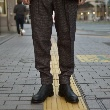 【RM202-028 MIX TWEED 2-PLEATED TROUSERS】*117